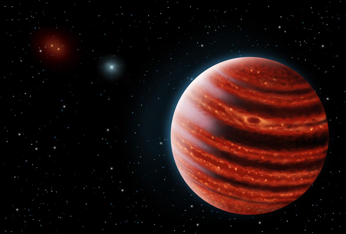 Jupiter-like exoplanet